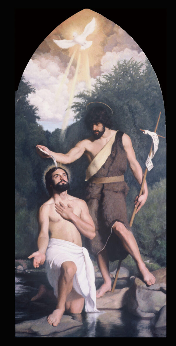 Henry Wingate - st. John baptizing Jesus