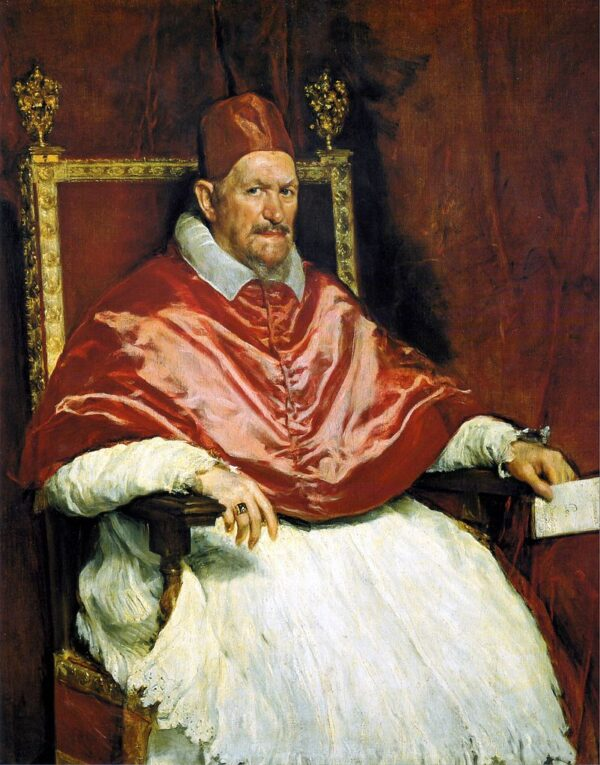 Portrait of Pope Innocent X by Velazquez