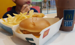Boy With Mild Autism Breaks Into Tears As He Eats His First McDonald's Since Lockdown