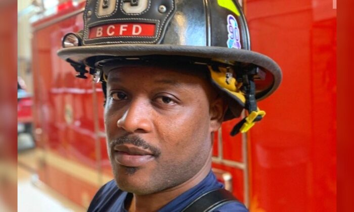 Minneapolis firefighter Korboi Balla in a file photo. (GoFundMe)