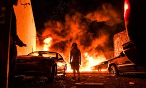 Governors, Mayors Condemn Violent Protesters: 'No Honor in Burning Down Your City'