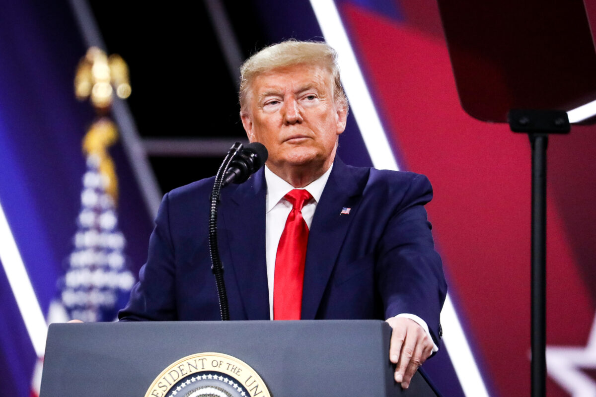 Trump to Make First Public Speech Since Leaving White House at CPAC