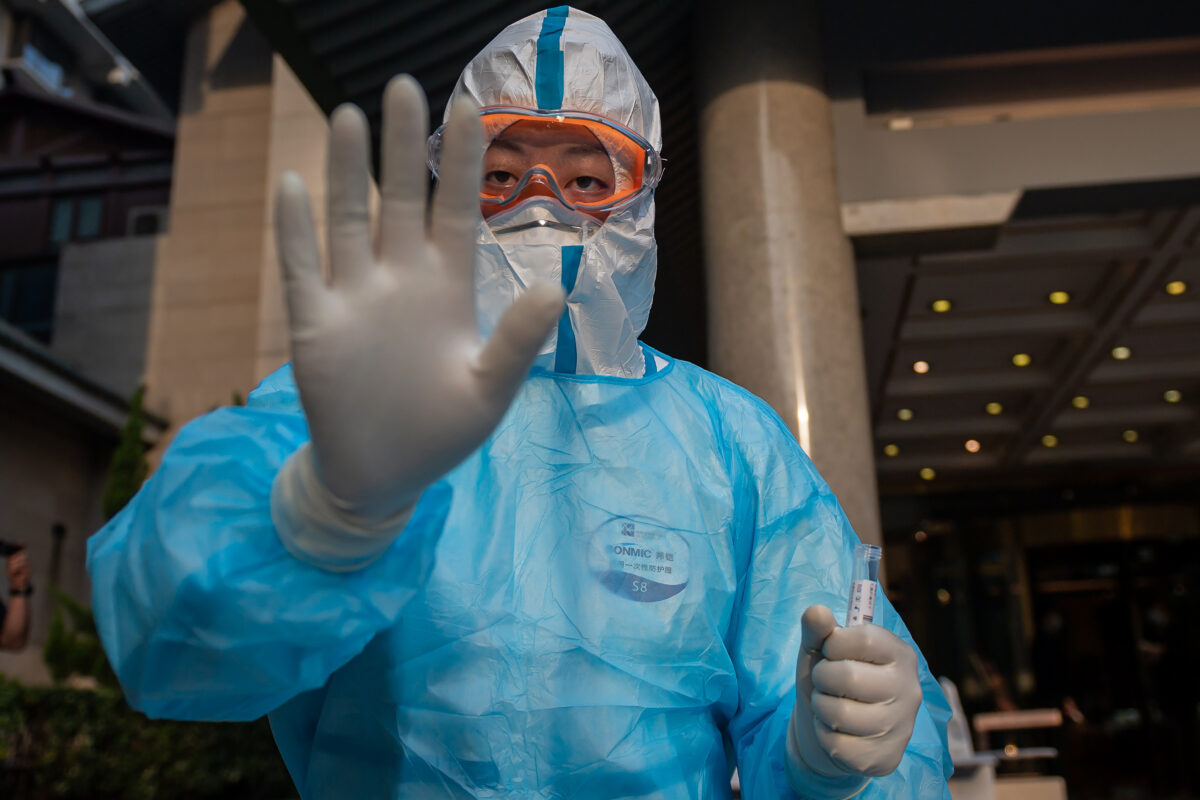 Hundreds of Virus Patients Test Positive Again After Initial Recovery in China: Leaked Internal Documents