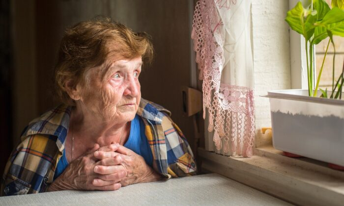 Older adults are facing a sense of severe isolation as pandemic social isolation restrictions lift for others, but not for them. (De Visu/Shutterstock)