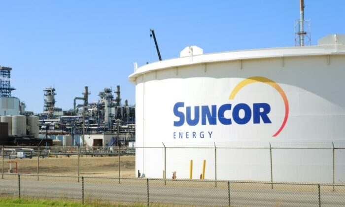 Suncor Energy's facility is seen in Sherwood Park, Alberta, Canada on August 21, 2019. (Candace Elliott/Reuters/File Photo)