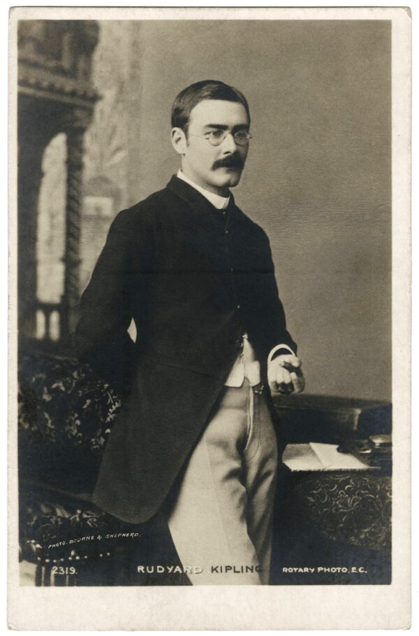 kipling as young man