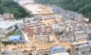 Heavy Rain Causes Severe Flooding in Southern China