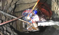 Firefighters Rescue a Man Who Fell Nearly 30 Feet Deep Into a Well From Inside a Home