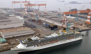 CCP Virus-Hit Cruise Liner Leaves Japan After Month-Long Quarantine