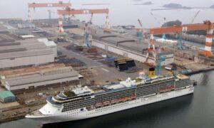 CCP Virus-Hit Cruise Liner Leaves Japan After Month-Long Quarantine