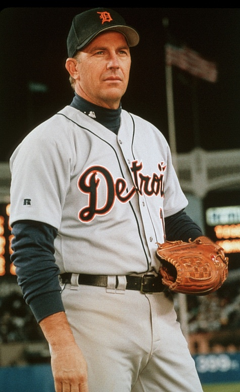 """Detroit Tigers pitcher in """"For Love of the Game"""""""