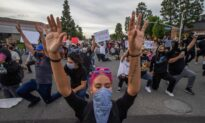 Orange County Protests Stay Relatively Subdued as Tensions Simmer