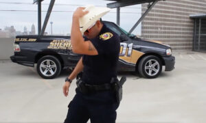 Sheriff's Deputy With Serious Dance Moves Takes On 'Git Up Challenge' to Recruit New Officers
