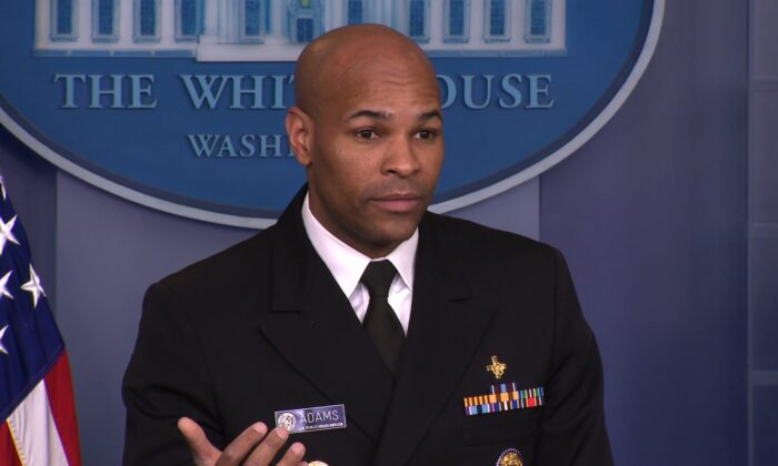 U.S. Surgeon General Dr. Jerome Adams in a file photo. (CNN)