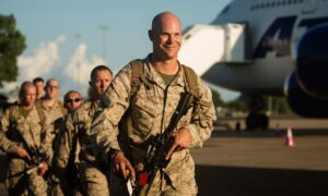 Contingent of US Marines arrives in Darwin