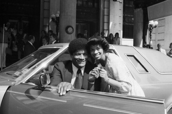 Wes Unseld and Connie Unseld