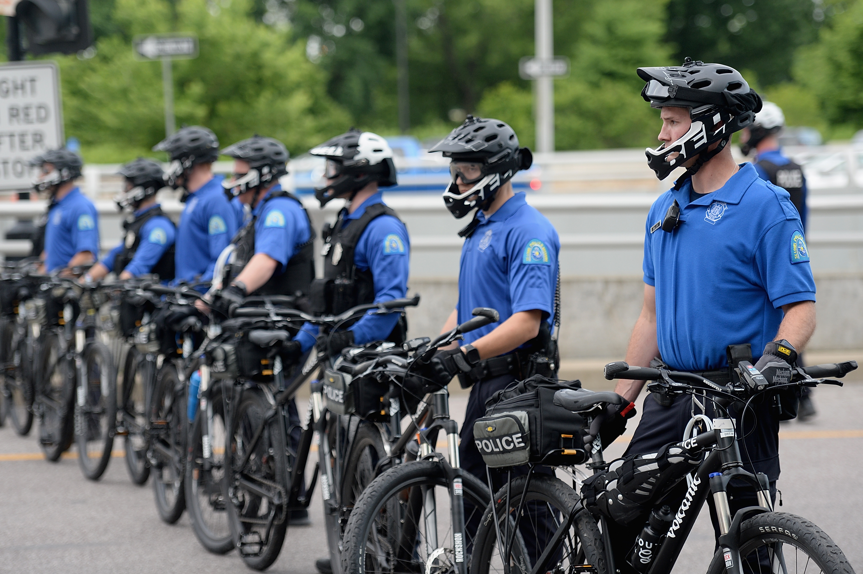 St. Louis City Bike Patrol Officers