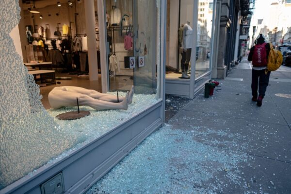 new york shop looted