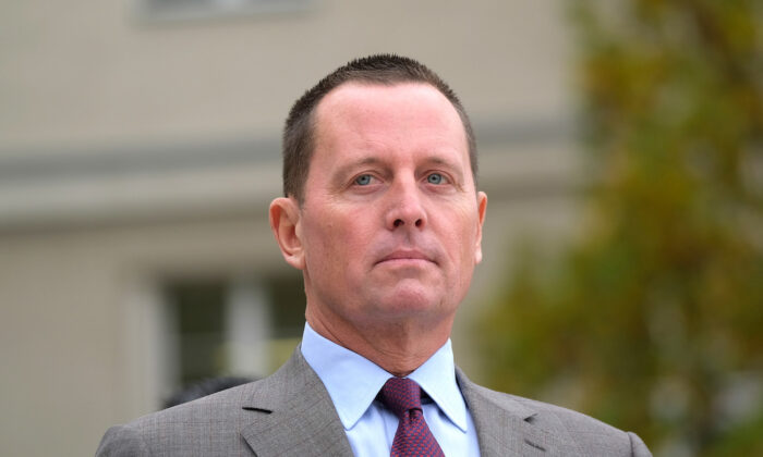 Then-U.S. Ambassador to Germany Richard Grenell in Berlin, Germany, on Nov. 8, 2019. (Sean Gallup/Getty Images)