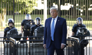Trump Says He Went to White House Bunker for 'Brief Inspection' Not Refuge