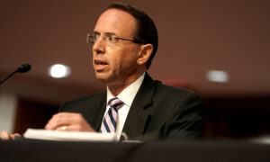 Rosenstein Wouldn't Sign Application Now to Spy on Trump Associate