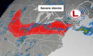 Severe Storms Threaten a 1,600-Mile Stretch of the US the Worst May Hit New York City