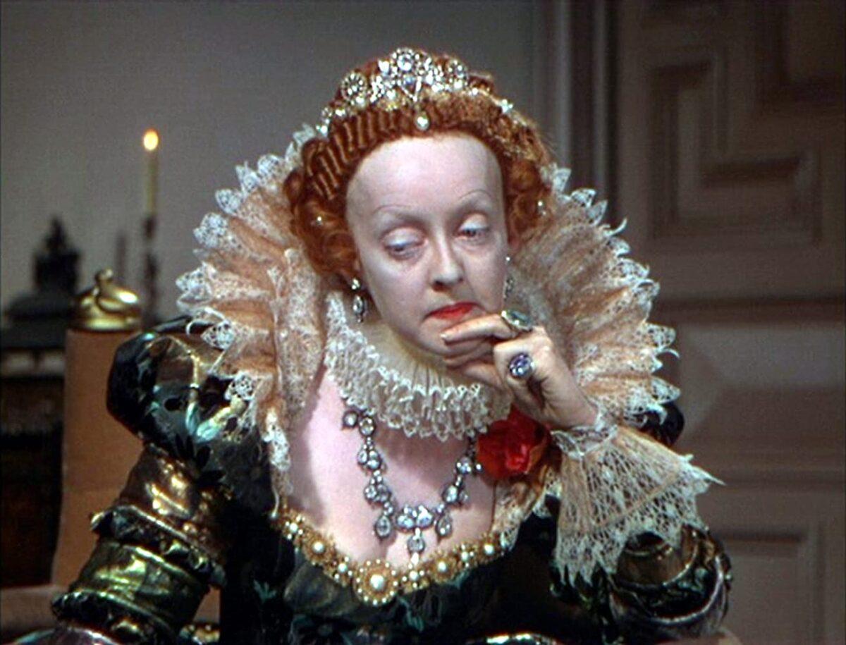 Bette Davis as Elizabeth I