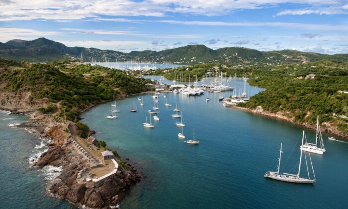 English Harbour, located in the south of Antigua, is close to a nearby harbor where the British Navy established a base of operations in the 18th century. (Ted Martin/Antigua and Barbuda Tourism Authority)