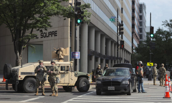 Trump Prefers Using National Guard Over Military to Contain Unrest