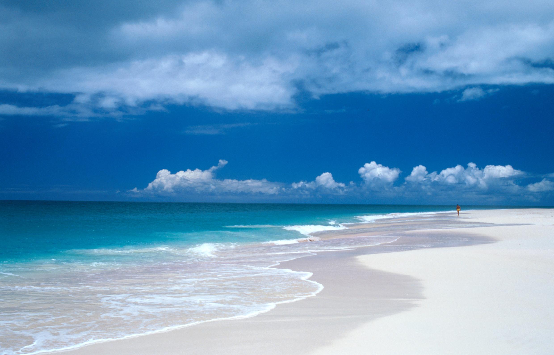 Pristine Barbuda beach