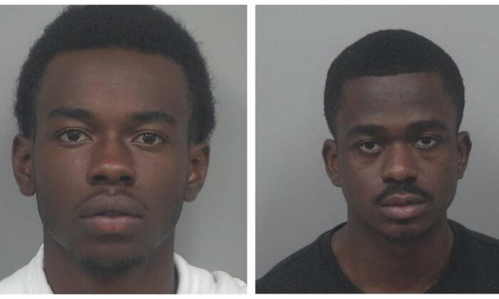 Alvin Joseph, left, and Ebuka Chike-Morah. (Gwinnett County Police Department)
