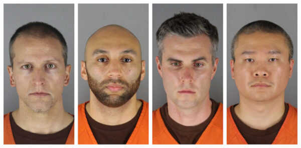 police officers who arrested george floyd