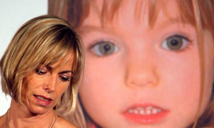 Kate McCann, whose daughter Madeleine went missing during a family holiday to Portugal in 2007, attends a news conference at the launch of her book in London on May 12, 2011. (Chris Helgren/Reuters)