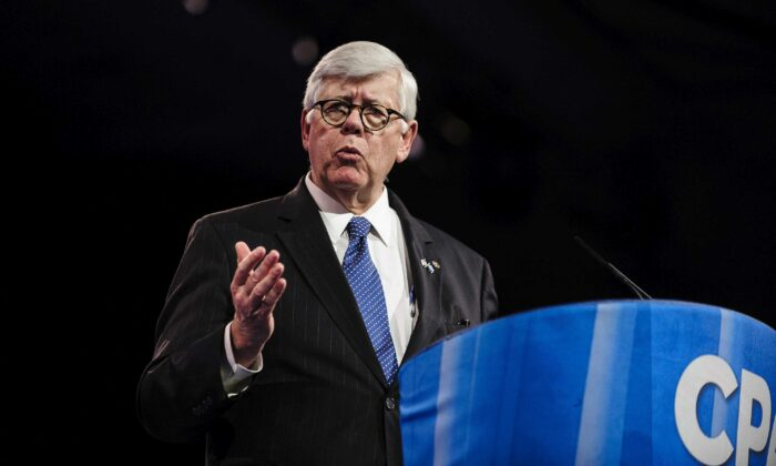 David A. Keene speaks at the 2013 Conservative Political Action Conference (CPAC) in National Harbor, Maryland, on March 16, 2013. (Pete Marovich/Getty Images)