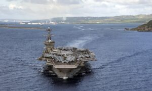USS Theodore Roosevelt Is Back Operating in Pacific After CCP Virus Sidelined the US Warship