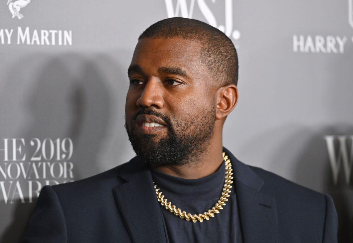 U.S. rapper Kanye West