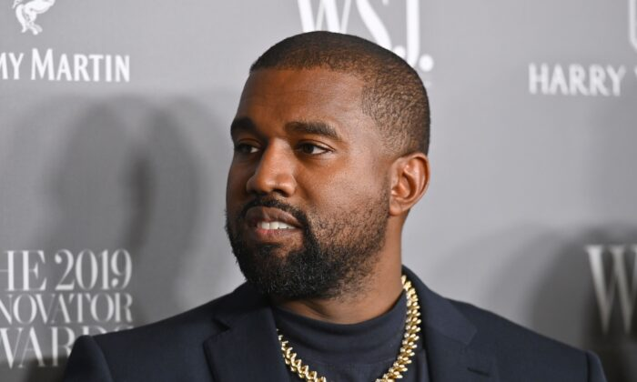 Rapper Kanye West attends the WSJ Magazine 2019 Innovator Awards at MOMA in New York City, on Nov. 6, 2019. (Angela Weiss/AFP via Getty Images)