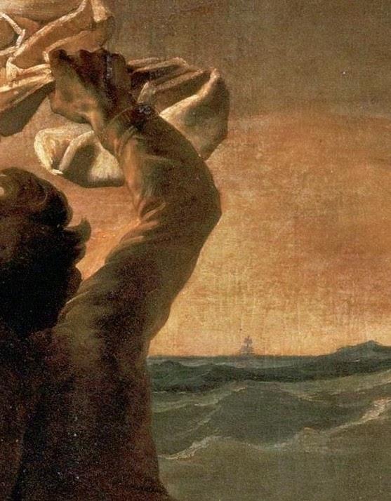 Detail of the Raft of Medusa