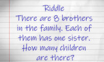 Try Solving This Tricky Sibling Math Puzzle–How Many Children Are There in the Family?