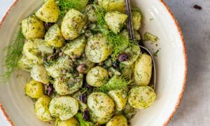 Italian Potato Salad With Wild Fennel, Capers, and Olives