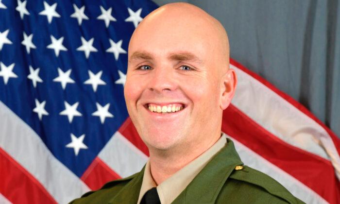 Sgt. Damon Gutzwiller. (Santa Cruz County Sheriff's Office via AP)