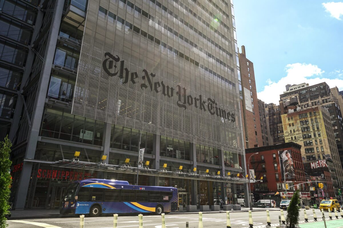 Embattled New York Times Opinion Page Editor James Bennet Resigns