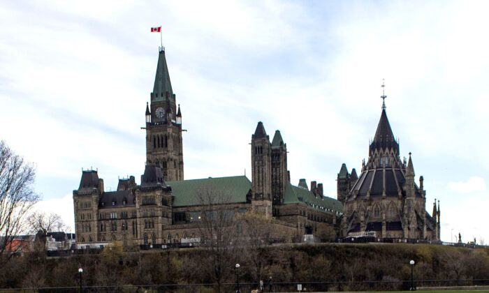"Parliament Hill as seen from Major's Hill Park in Ottawa on May 9, 2020. If Bill C-8 passes, any counselling that is not deemed to be ""affirming"" will become illegal. (The Canadian Press/Justin Tang)"