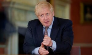 Boris Johnson's Gaffe on CCP Virus Restrictions Adds Fuel to Parliament Rebellion
