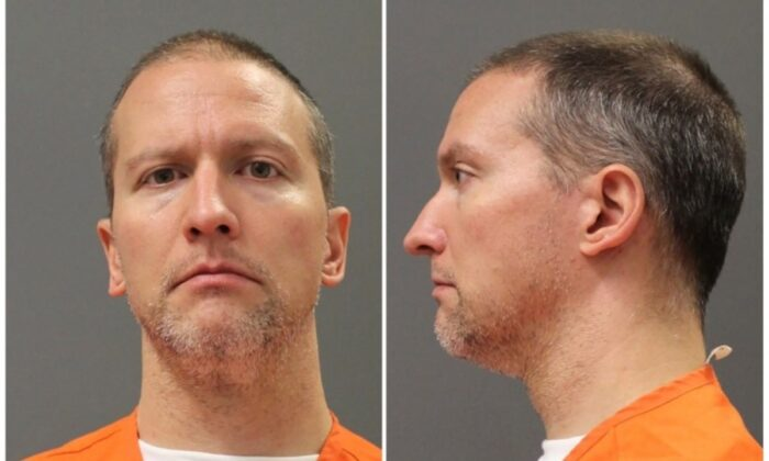 Former Minneapolis police officer Derek Chauvin poses for an undated booking photograph. (Minnesota Department of Corrections via Reuters)