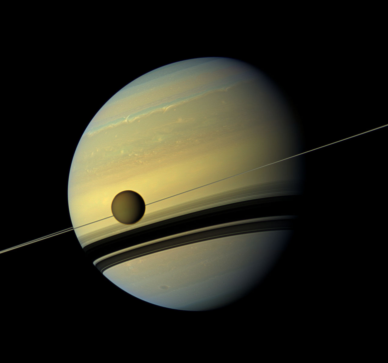 NASA Discovery Reveals Saturn's Moon Titan Drifting Away 100 Times Faster Than Previous Estimates
