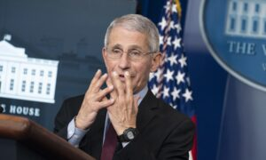 Fauci Says COVID-19 Has Potential to Be As Serious As 1918 Flu Pandemic