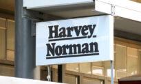 Harvey Norman Sales Up, Overseas Down