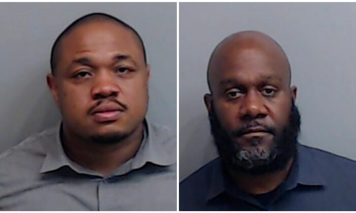 Ivory Streeter (L) and Mark Gardner, the two fired officers. (Fulton County Sheriff's Office via AP)