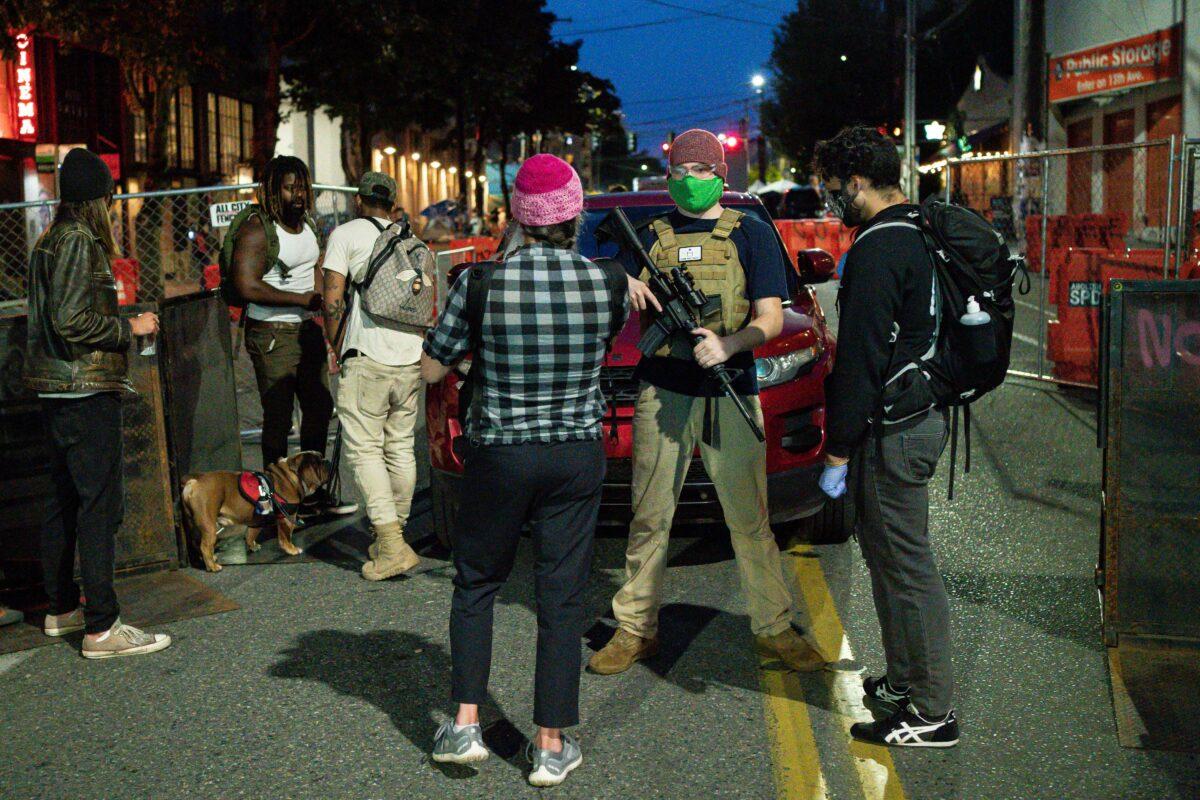 Portland Protesters Abandon Seattle-Style 'Autonomous Zone'
